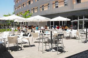 Residencia Universitaria Damià Bonet terraza