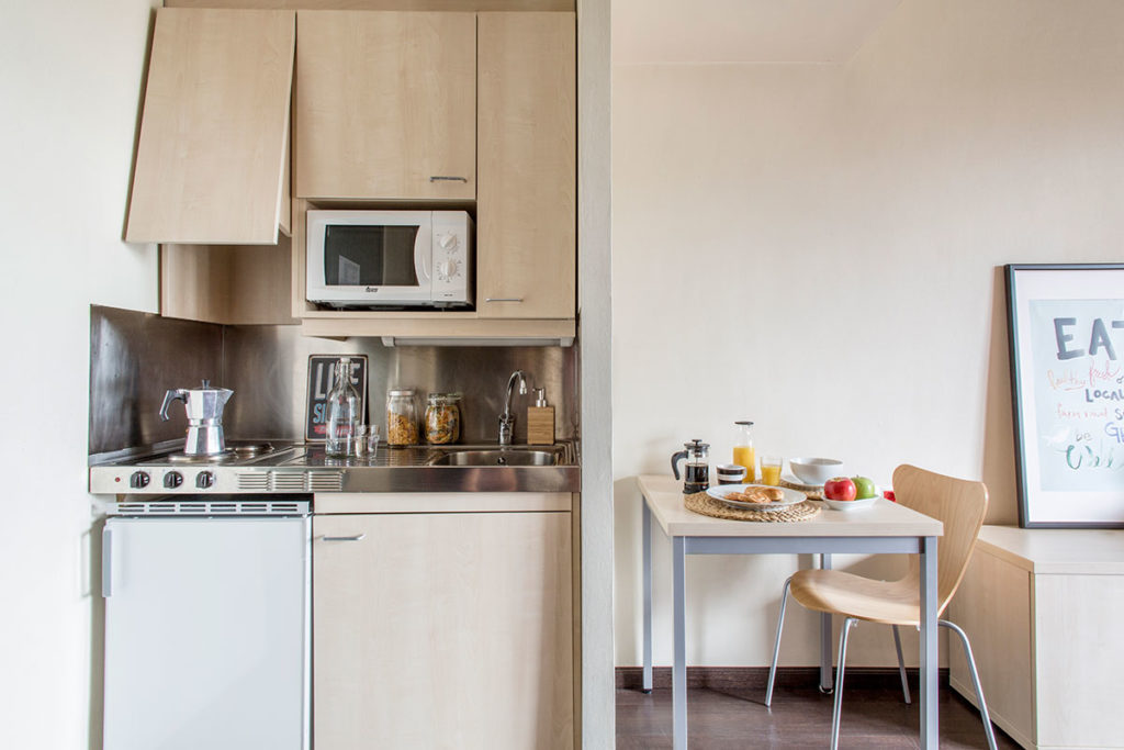 cocina habitacion resa alcala