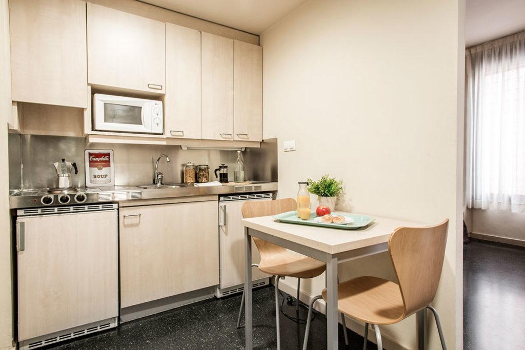 cocina habitacion resa alcala de henares