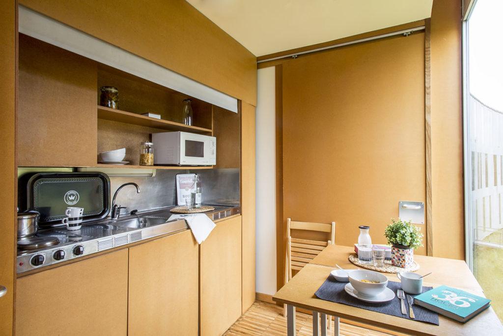 Residencia universitaria o castro: habitaciones y precios