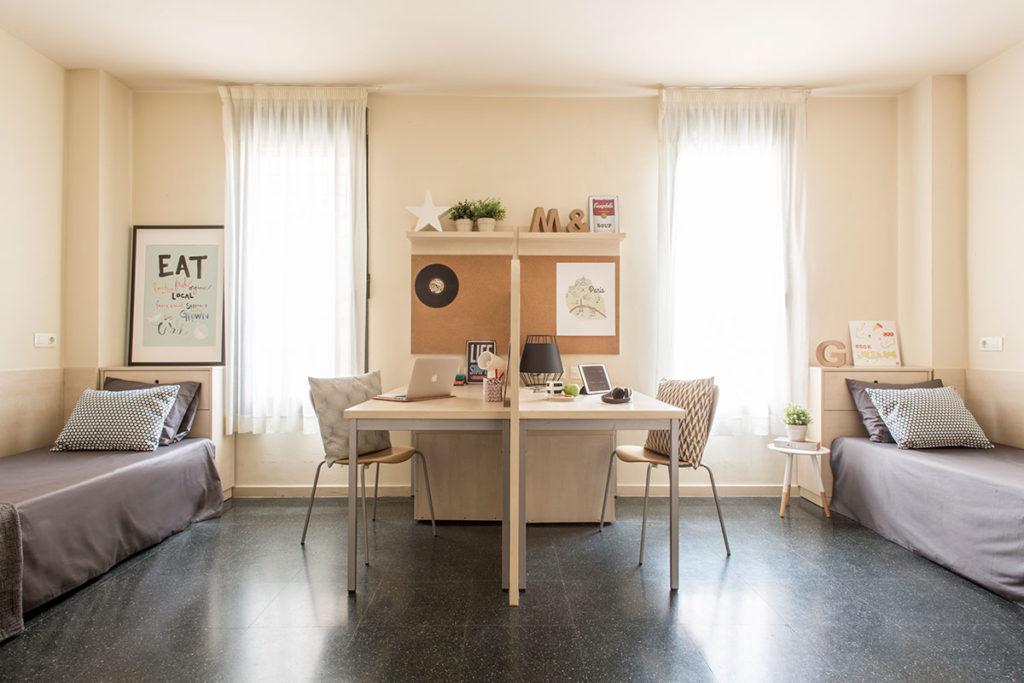 Estudio doble residencia resa alcala madrid