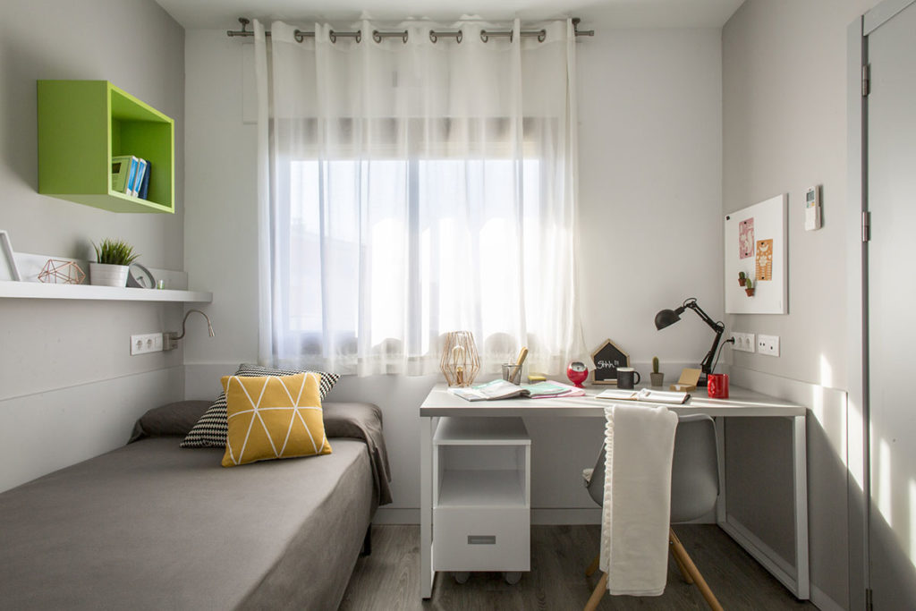 Residencia universitaria diagonal habitaciones y precios for Habitaciones para estudiantes
