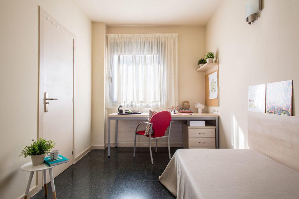 estudio individual resa residencia alcala