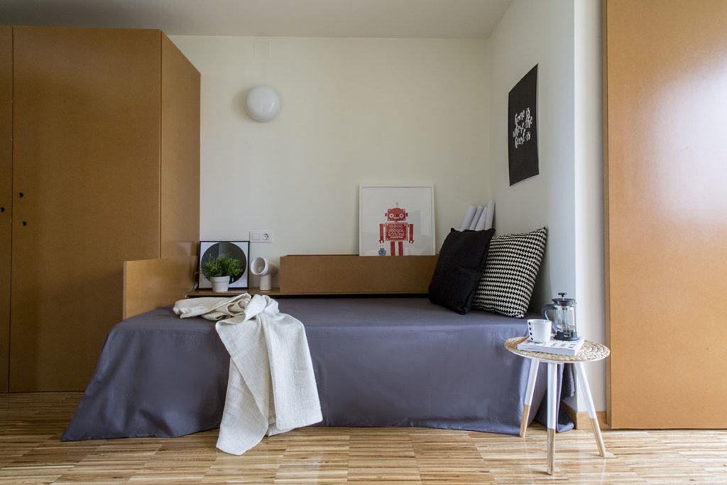 foto habitacion residencia universitaria ocastro