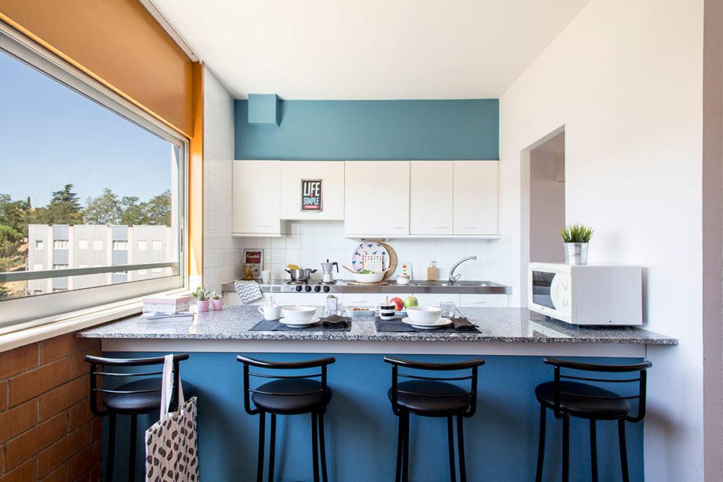 foto cocina apartamento duplex Girona