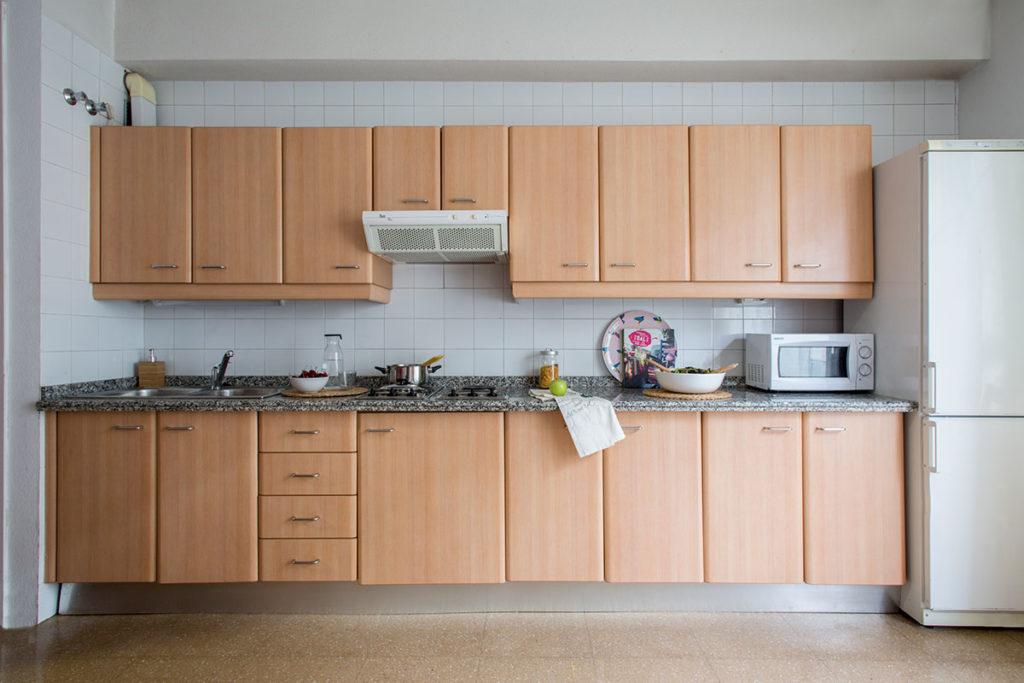 cocina apartamento residencia resa sevilla