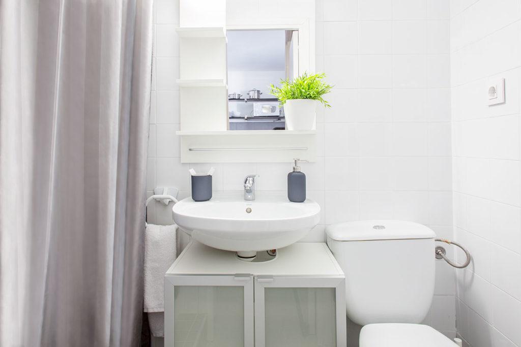 baño resa habitación individual