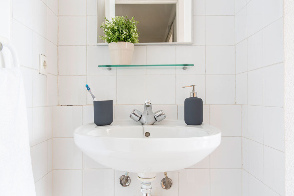foto baño privado en residencia rector ramon carande sevilla