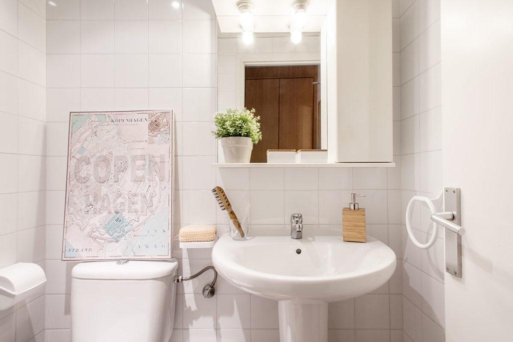 Baño habitación individual resa montilivi