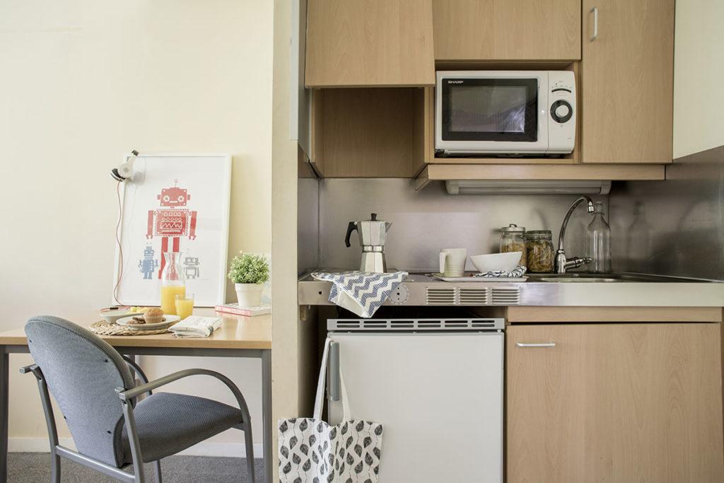 Residencia universitaria erasmo: habitaciones y precios