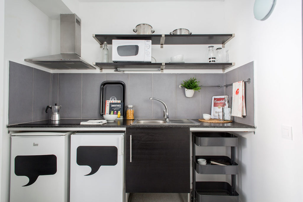 cocina habitación resa barcelona