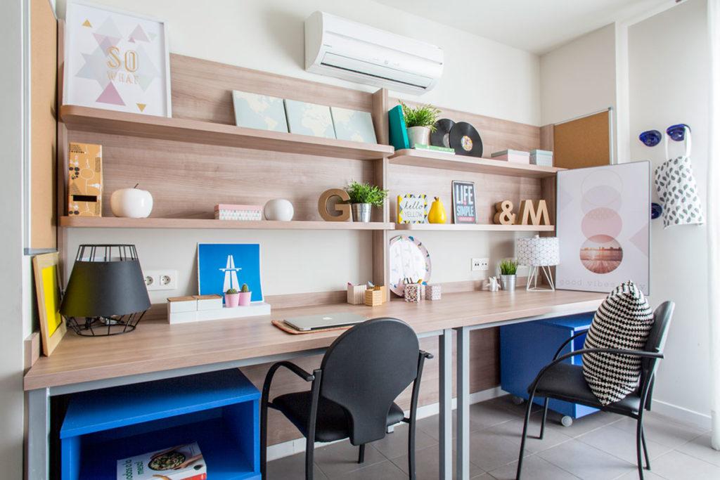 estudio doble residencia universitaria La Concepción