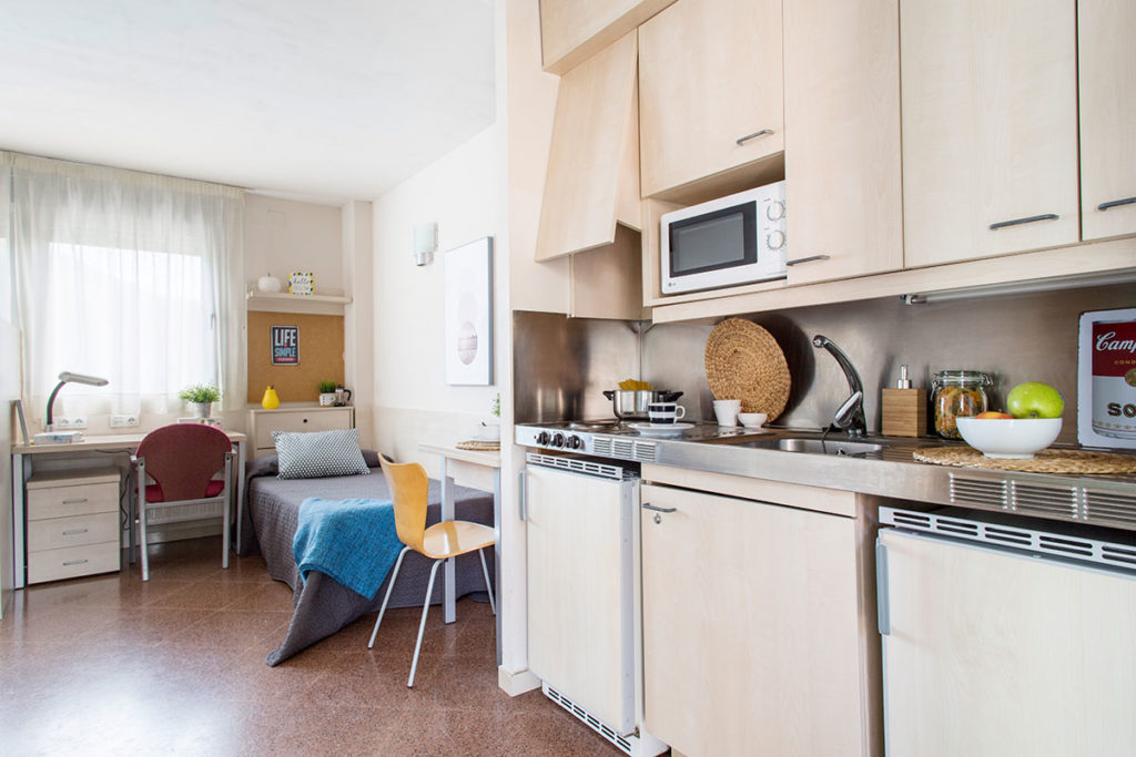 habitacion doble cocina resa