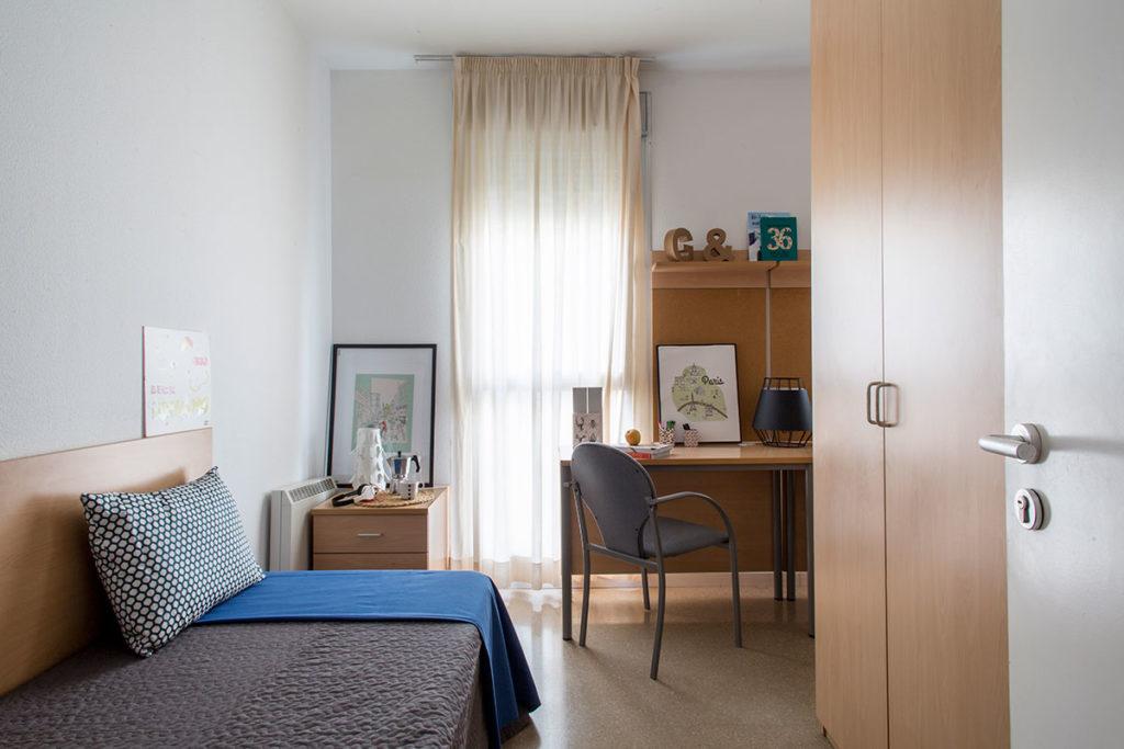 Habitación doble en residencia de estudiantes sevilla