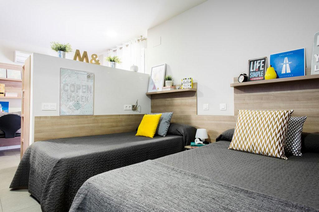 estudio doble dos camas concepción