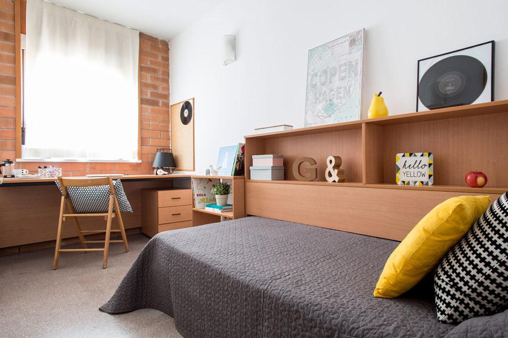 Habitación individual duplex Girona