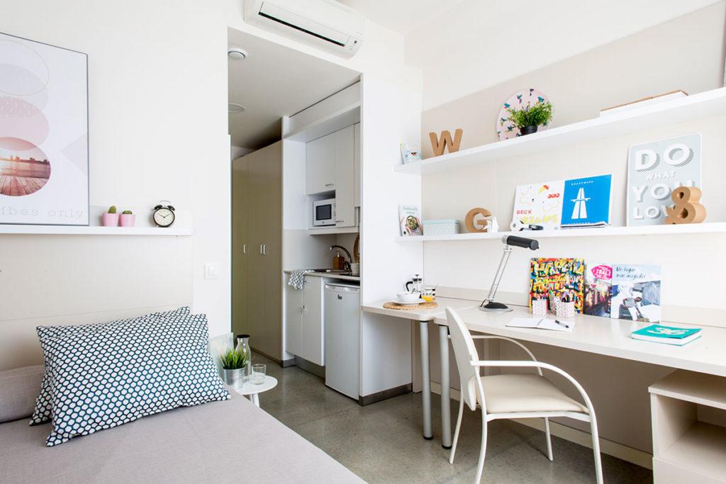 Residencia campus la salle habitaciones y precios for Habitacion barcelona