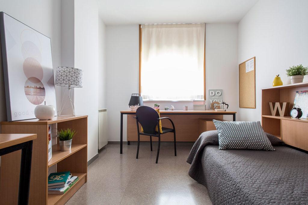 habitación individual resa girona