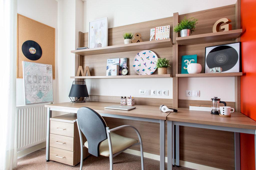 habitacion resa escritorio individual