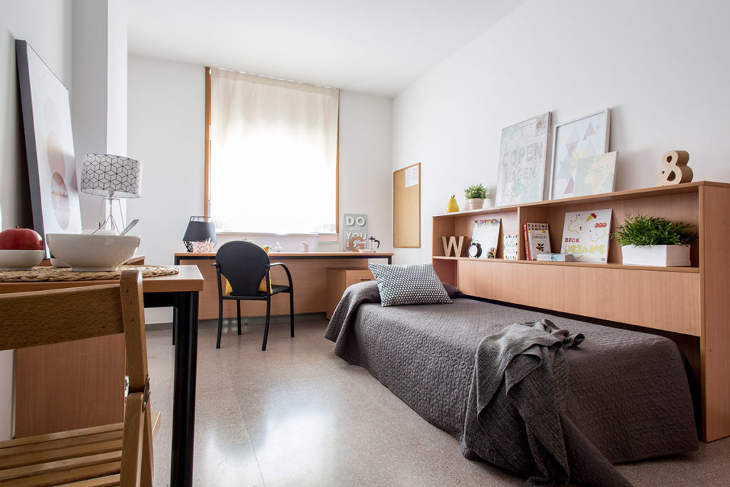 habitación individual resa campus montilivi