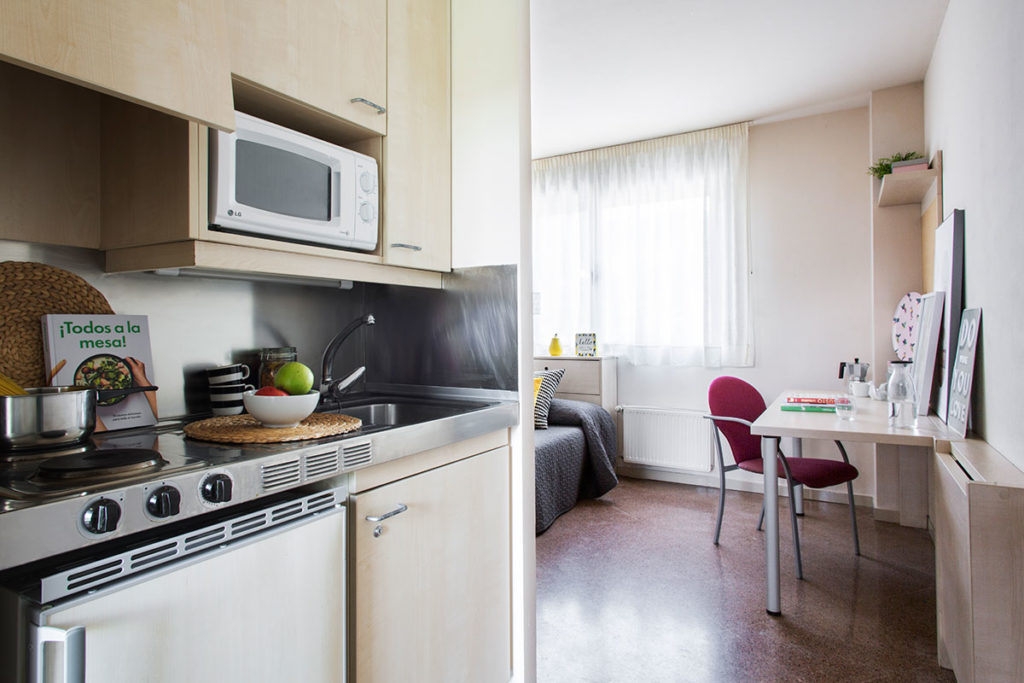 resa cocina habitación individual