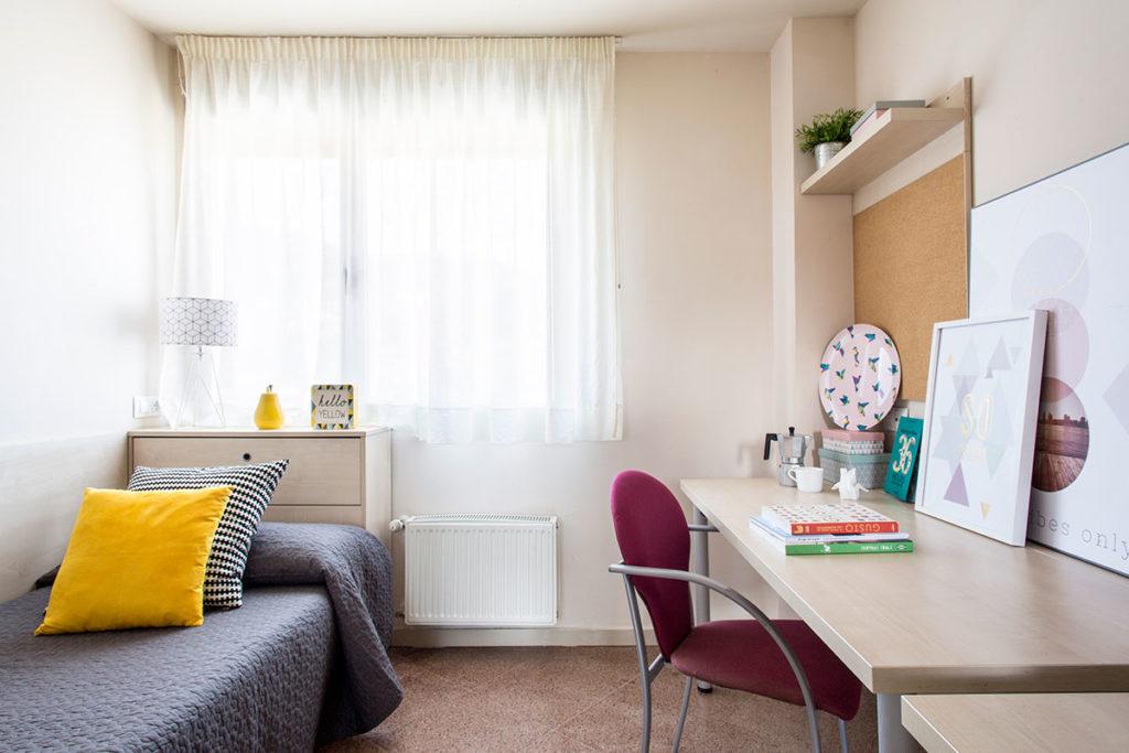 resa habitación individual cama