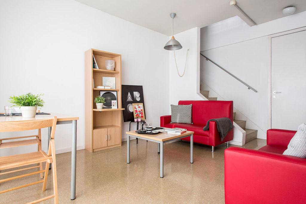 Foto sala de estar rector ramon carande sevilla