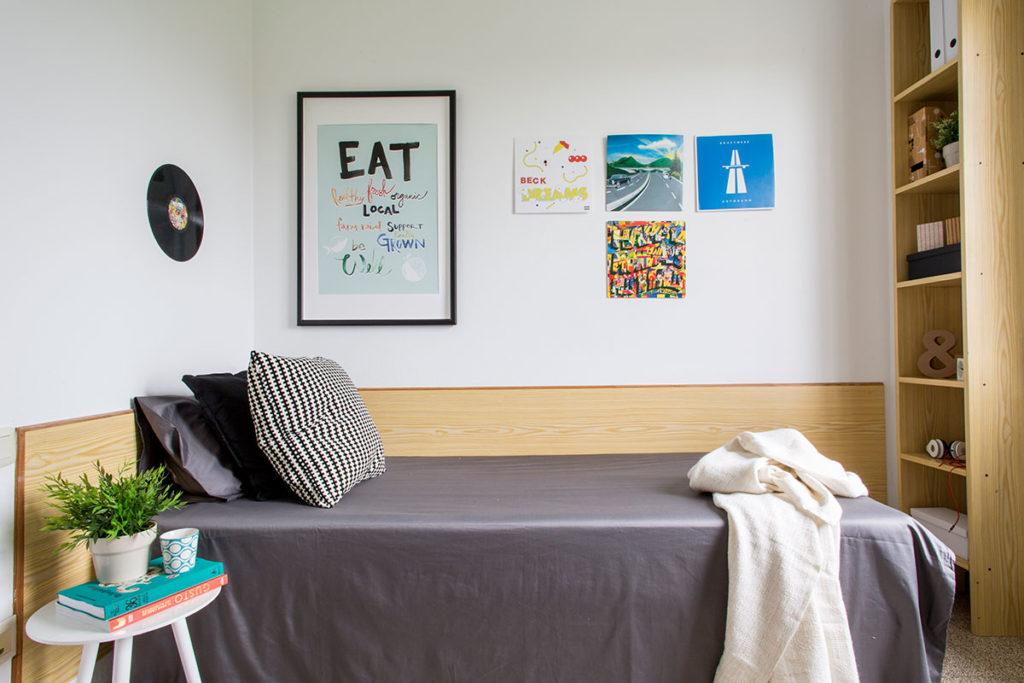 foto habitación individual residencia siglo xxi