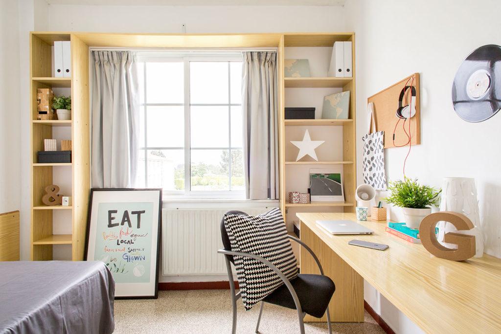 habitación individual residencia resa A Coruña