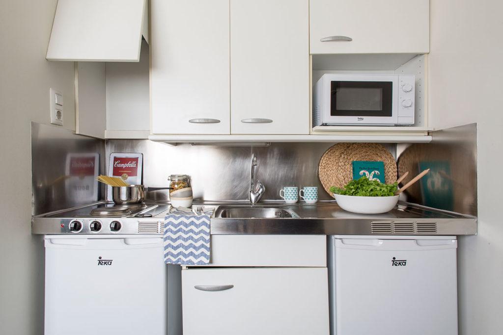foto cocina compartida residencia as burgas