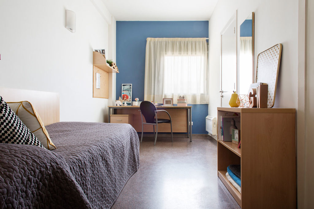Habitación individual residencia as burgas