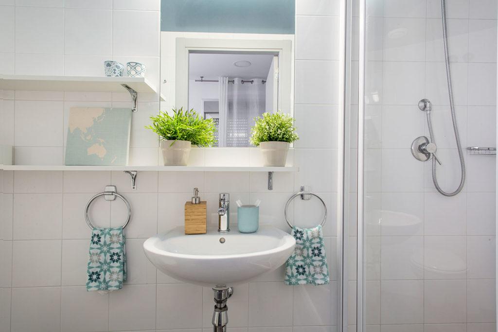 baño residencia vallehermoso madrid