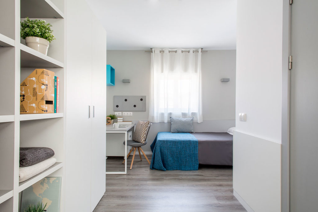 habitacion doble residencia resa vallehermoso madrid