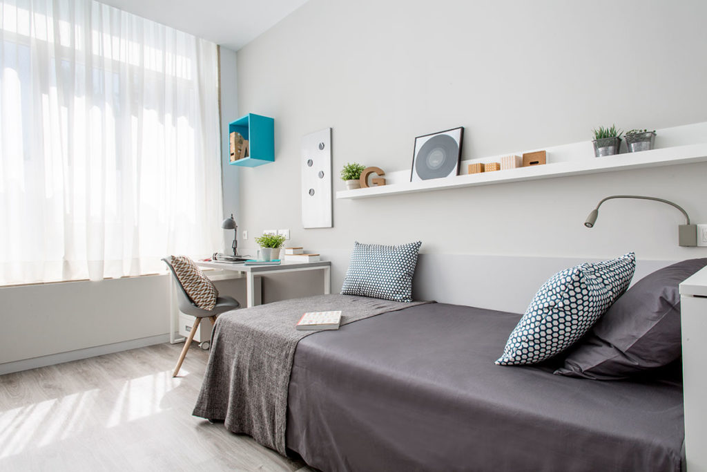 Residencia resa vallehermoso habitacion individual