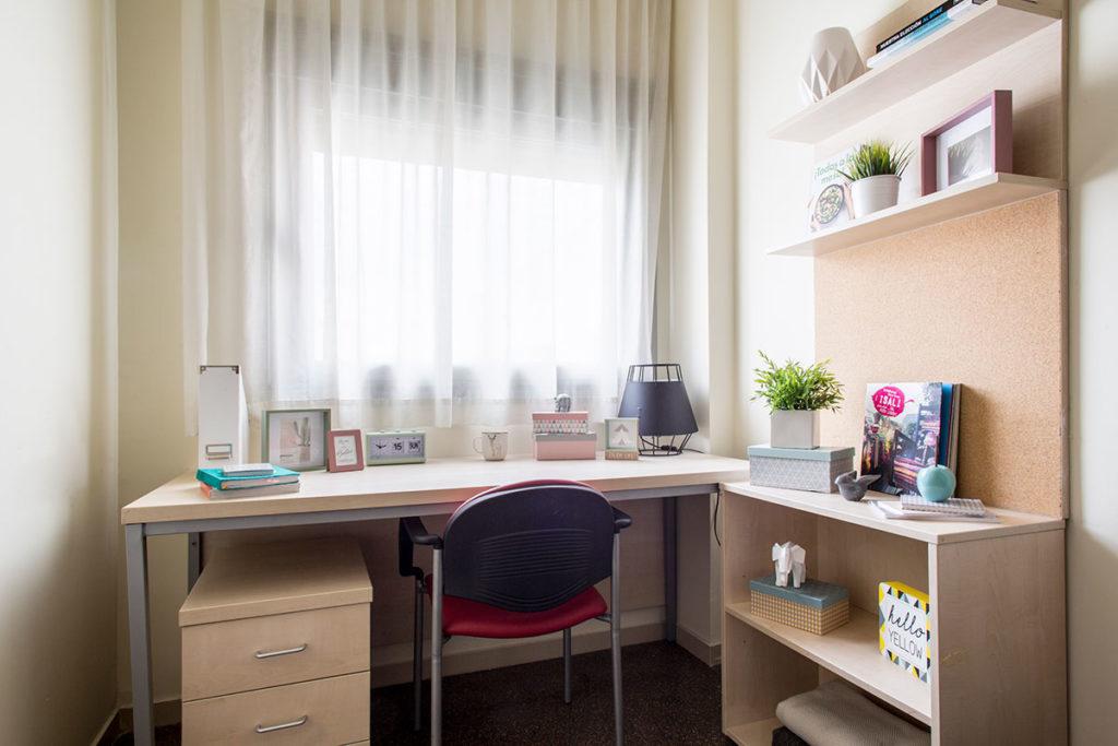escritorio estudio individual residencia los abedules